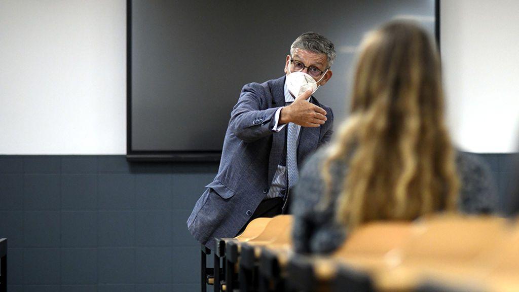 """Juan Ignacio, profesor: """"Nunca he tenido miedo y el pavor al virus me bloqueó"""""""