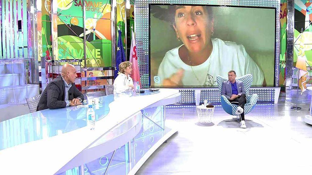 """Los colaboradores de 'Sálvame' responden a los ataques de Anabel Pantoja: """"Si no te sientes integrada, hay gente que se ha sentido así y se ha ido"""""""