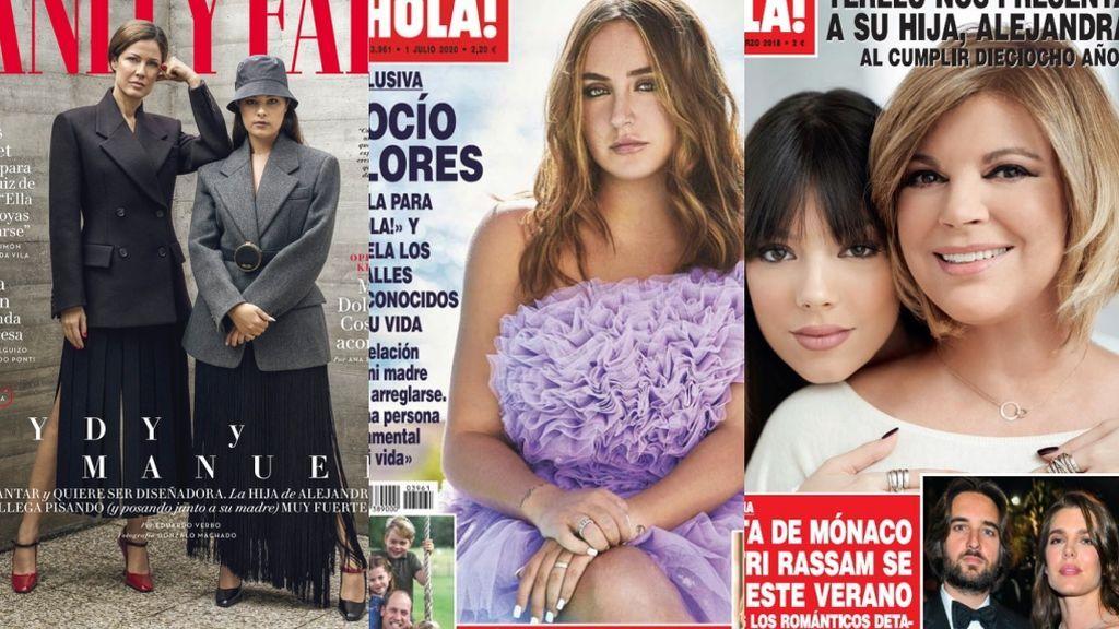 Mi primera portada, Chispas: Los debuts corazoneros de las nuevas generaciones del cuore