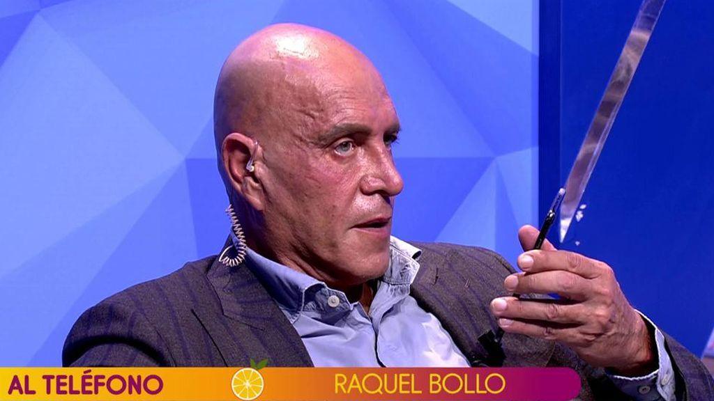 El monumental mosqueo de Raquel Bollo con Kiko Matamoros: le llama en directo para echarle la bronca