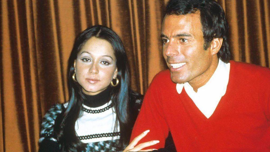 Isabel y Julio se casaron cuando ella ya estaba embarazada de su primera hija.