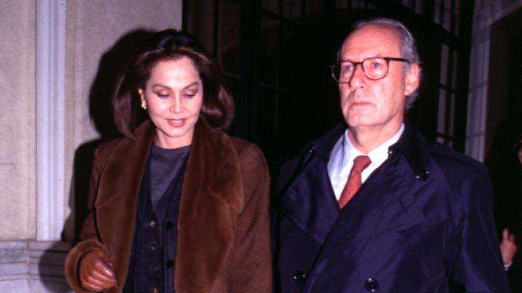 Y, luego, se casó con Miguel Boyer, ministro de Economía.