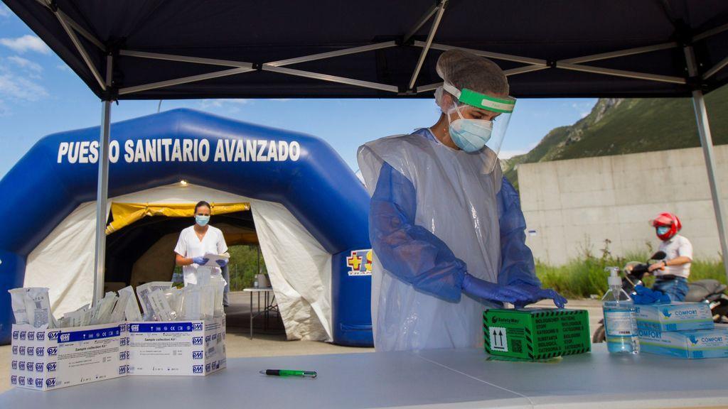 España registra otro récord con 25.595 contagios de coronavirus y 239 muertos