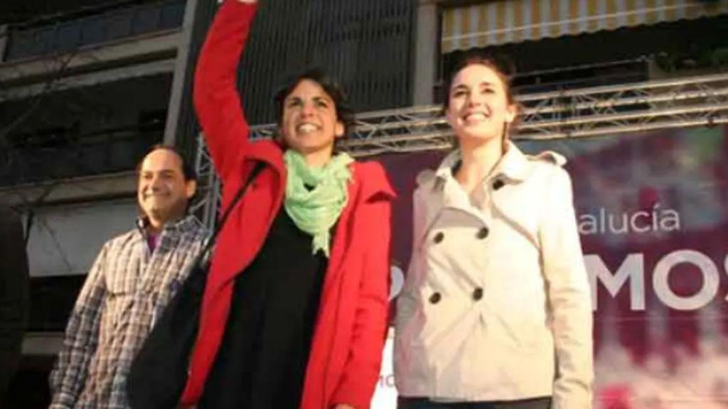 """Teresa Rodríguez e Irene Montero 'a navajazo limpio': del 'la política no para al yo tengo curro al que volver"""""""