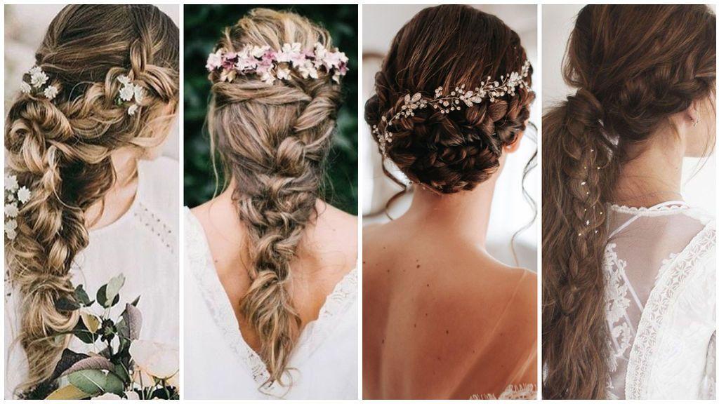 El estilo desenfadado ha vuelto a nuestras vidas: 10 peinados informales para novias.