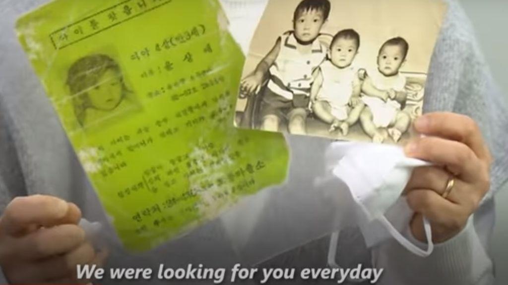 Una mujer se reencuentra con su familia biológica tras 44 años: se perdió de pequeña en un mercado