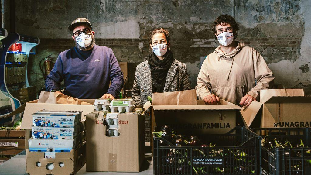 'Health Warriors' o activistas de la comida: de repartir raciones a sanitarios, a alimentar 5.000 familias vulnerables