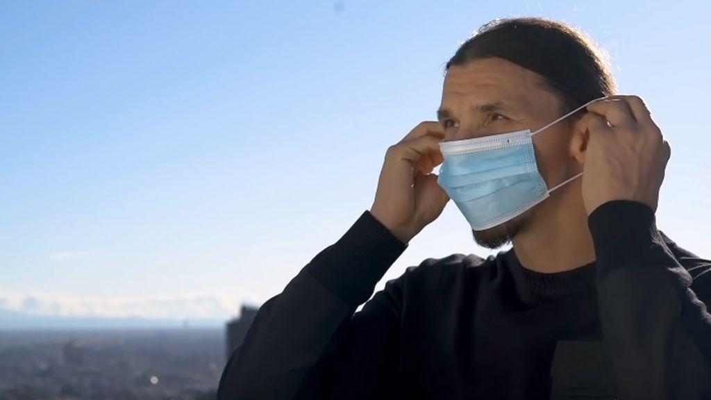 """Ibrahimovic protagoniza una campaña contra el coronavirus: """"Tú no eres Zlatan, no desafíes al virus"""""""