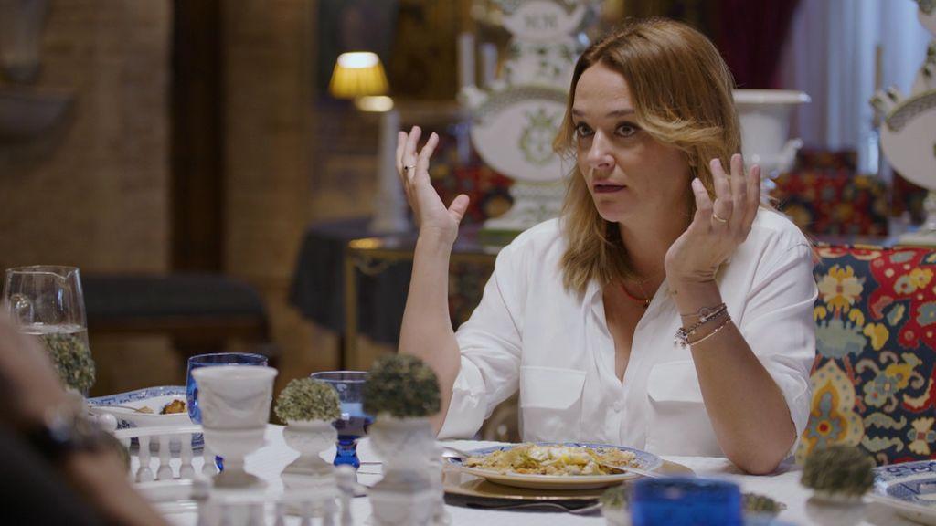 Toñi Moreno en la entrevista a María del Monte
