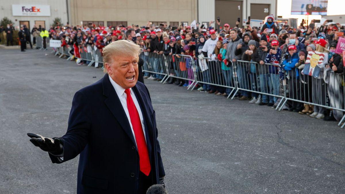 """Trump dice que EEUU lo está haciendo """"mejor que Europa"""" pese a superar los nueve millones de casos"""