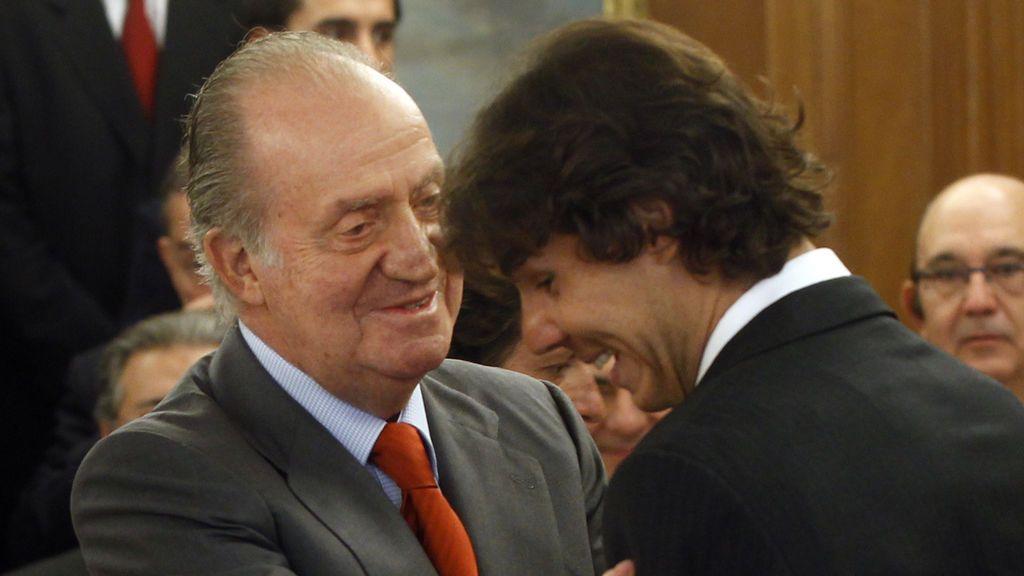 """Rafa Nadal: """"Puede que el Rey Juan Carlos se haya equivocado, pero hay que recordar lo que ha hecho por España"""""""