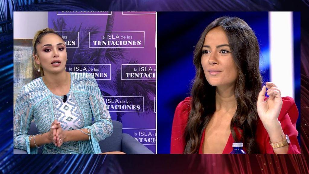 El 'zasca' de Melyssa a Sandra