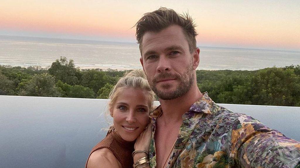 Elsa Pataky y Chris Hemsworth disfrutan de un Halloween sin coronavirus con disfraces caseros