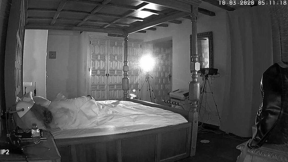 Clara Tahoces pasa la noche en la habitación 202 del castillo de Monda: voces y ruidos de origen desconocido