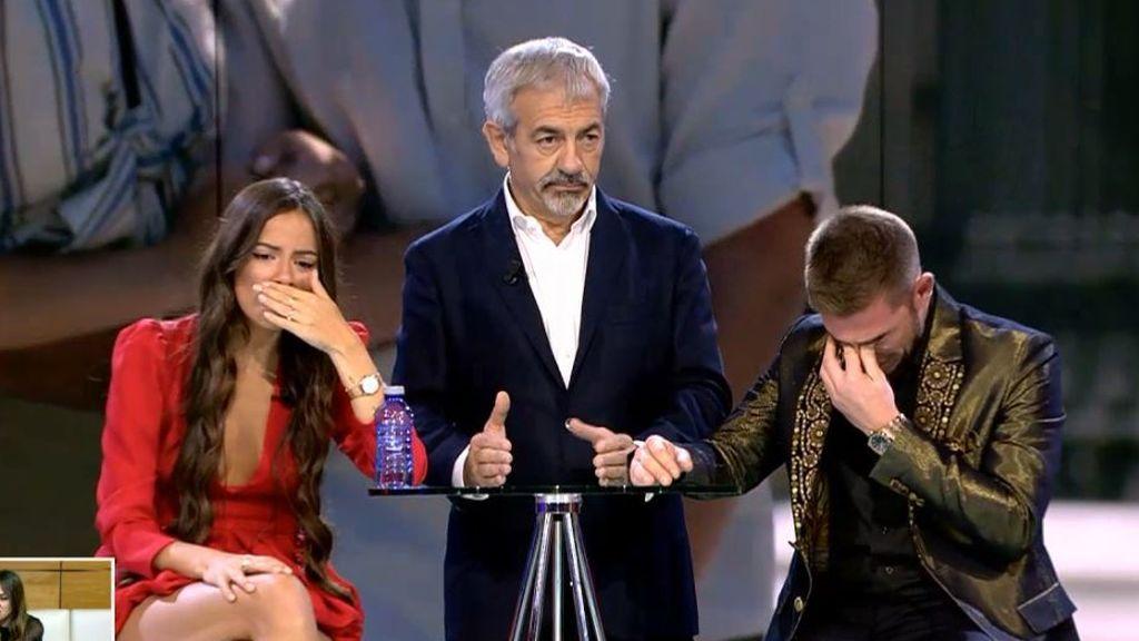 Melyssa y Tom rompen en llanto