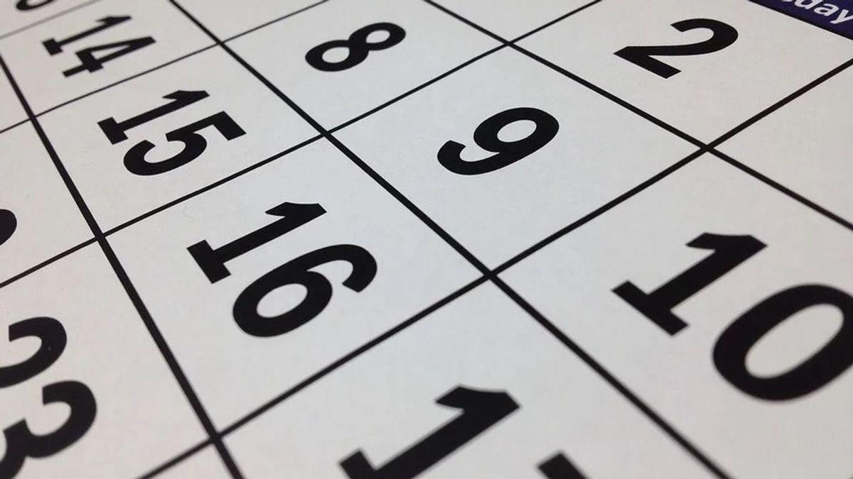 El calendario laboral de 2021 recoge 8 festivos comunes en toda España
