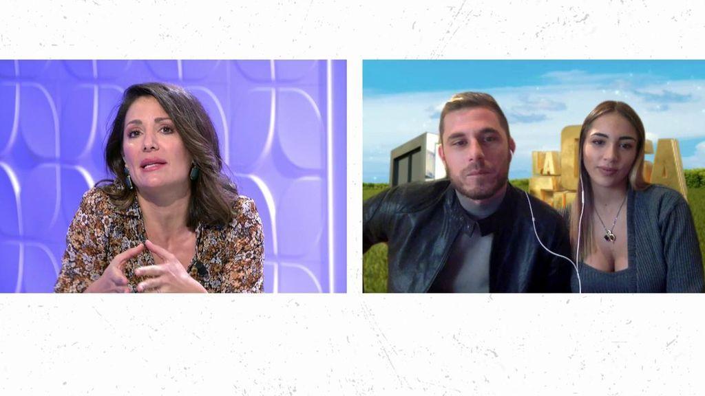 El encontronazo de Nagore con Tom y Sandra Pica