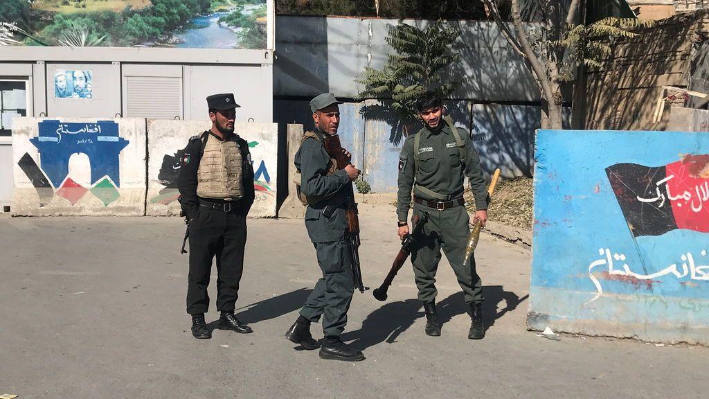 Tiroteo en la universidad de Kabul