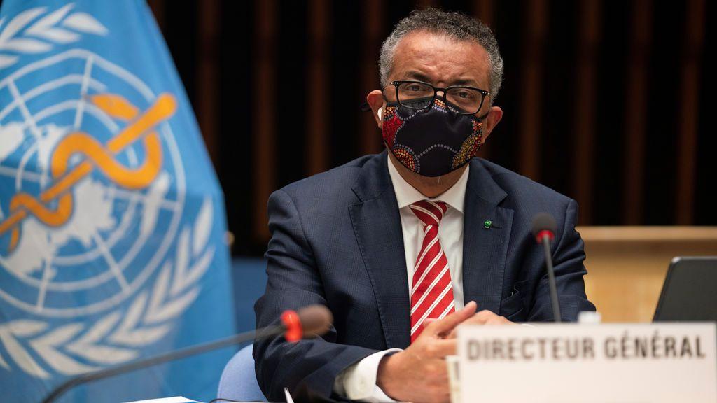 En cuarentena el director de la OMS por estar en contacto con un positivo en coronavirus