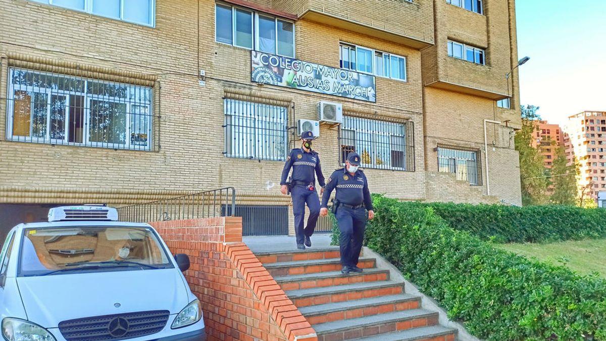 Confinada una residencia de estudiantes de Valencia tras detectarse 78 positivos entre los 300 internos