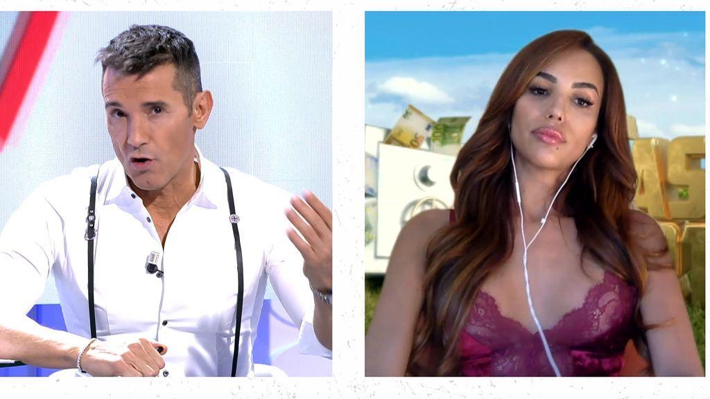 """Cristini desmiente la versión de Santana sobre su relación: """"Hubo más que besos"""""""