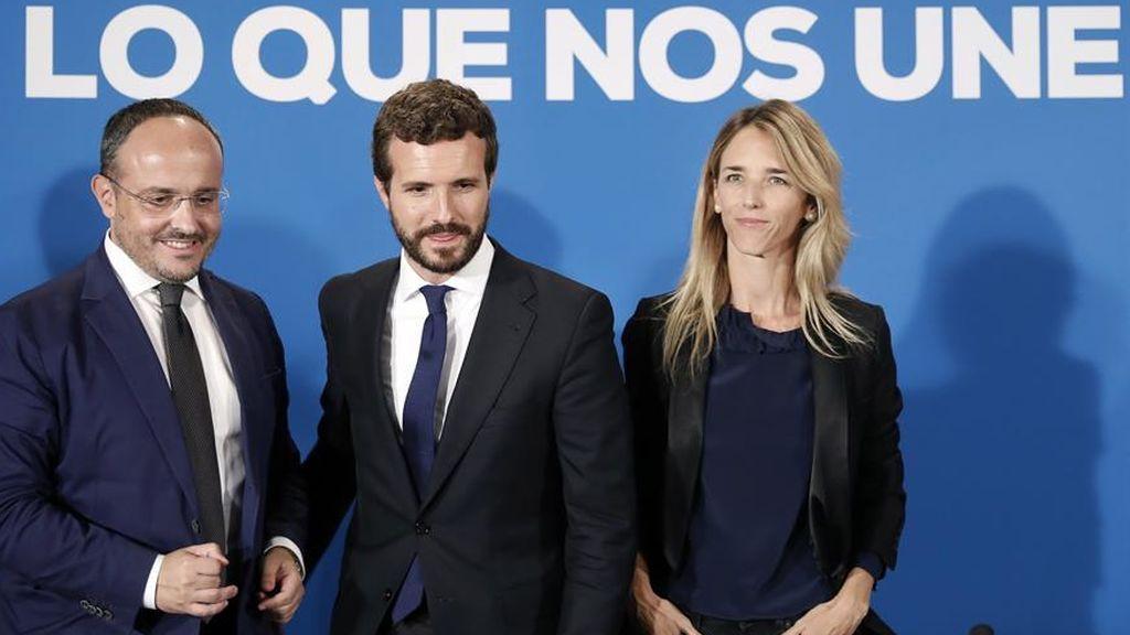 """Casado estudia liquidar """"España Suma"""" e impulsa a Alejandro Fernández como candidato a las elecciones en Cataluña"""