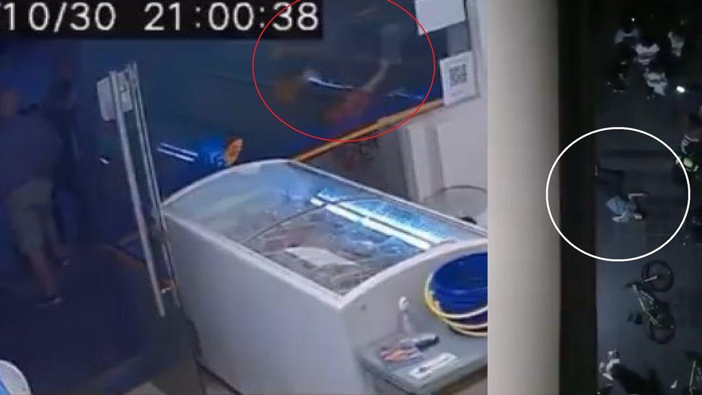 Una cámara de seguridad graba el momento del asesinato de una mujer por su acosador en Argentina