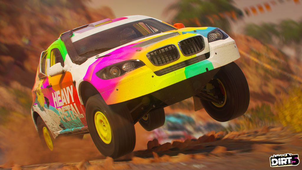Análisis de Dirt 5: barro, derrapes y fuegos artificiales