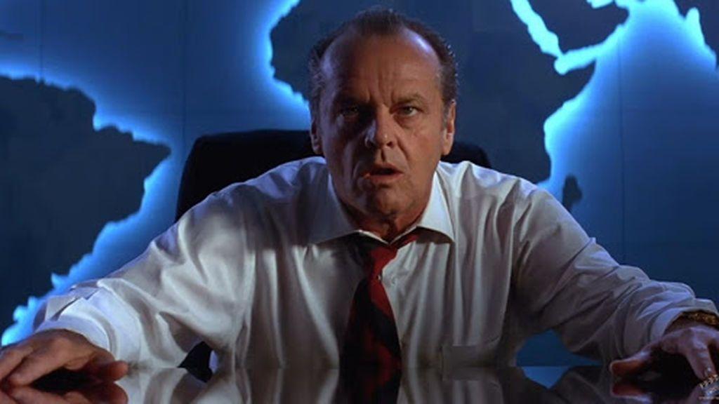Jack Nicholson en 'Mars Attacks'