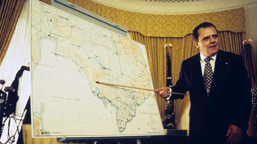 Anthony Hopkins en 'Nixon'