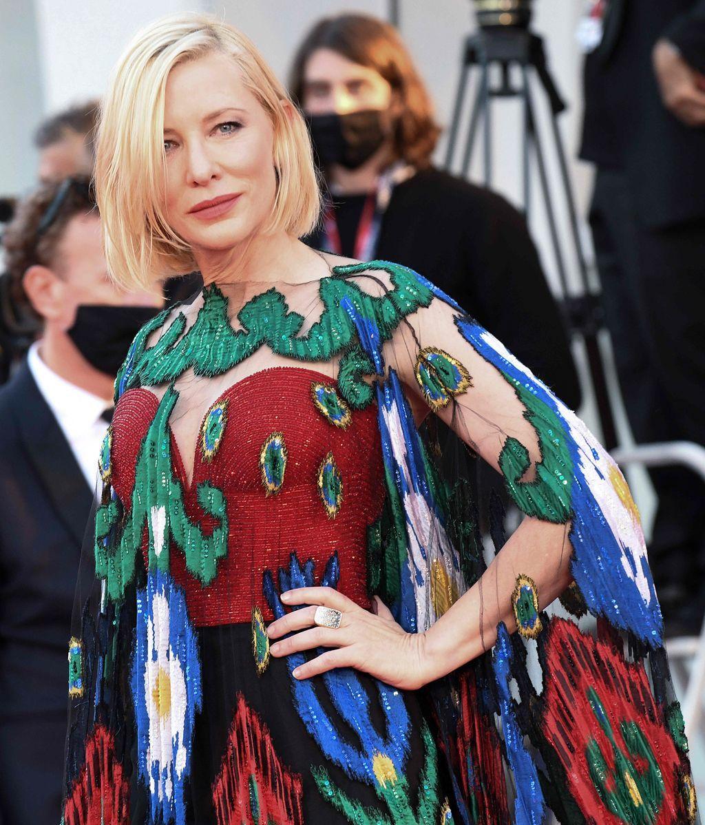 Cate Blanchett, en el festival de Venecia