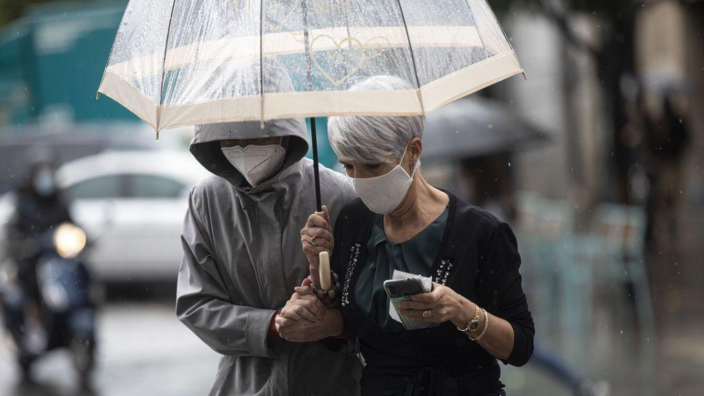 Riesgo de lluvias torrenciales el miércoles por la irrupción de una borrasca