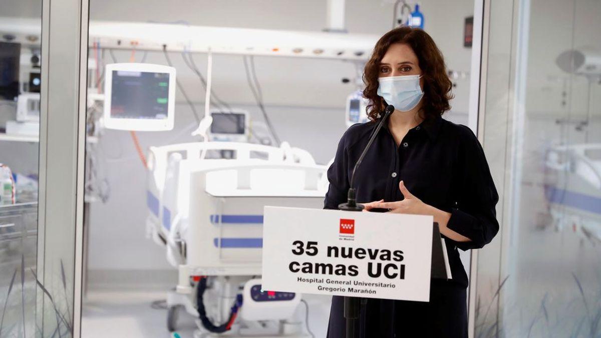 Isabel Díaz Ayuso pide que se permita hacer test serológicos en farmacias y clínicas dentales