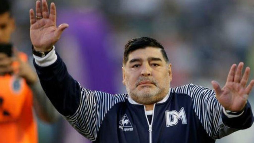 Maradona, ingresado en un hospital de la ciudad argentina de La Plata