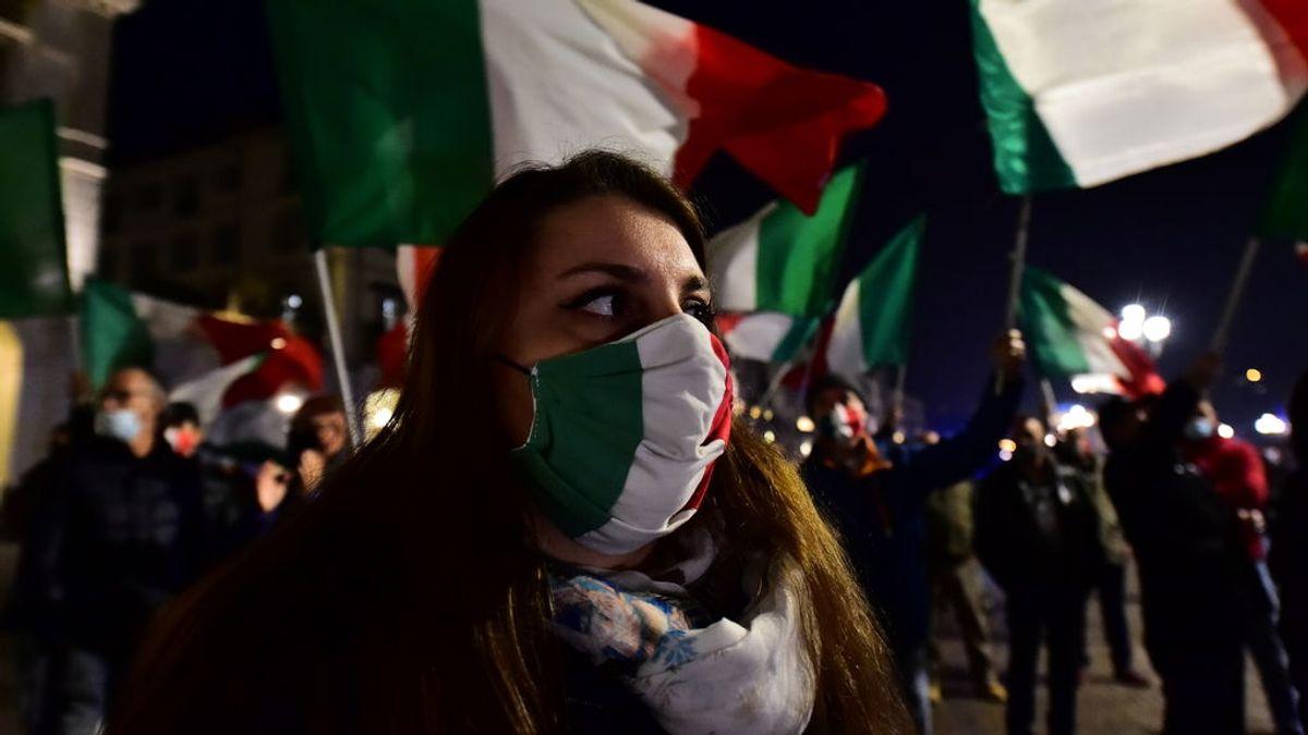 El nuevo semáforo de la pandemia entra en vigor en Italia, ninguna zona está en 'verde'