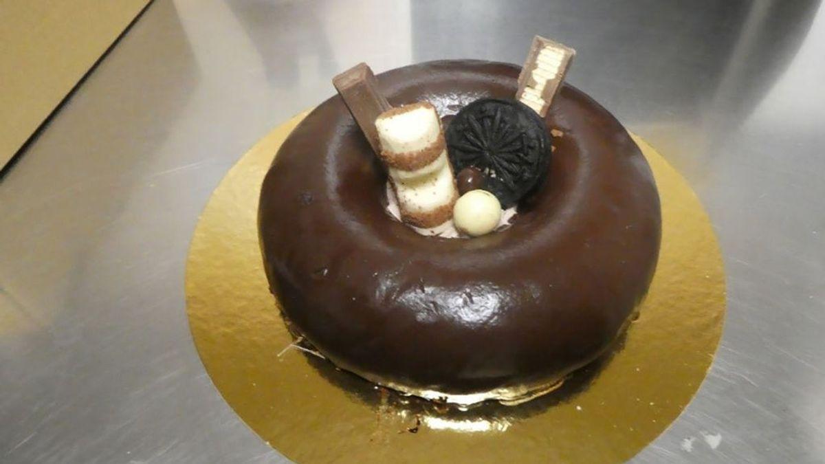 Retirada del mercado una tarta de chocolate de Ahorramás por incluir cacahuete sin indicarlo