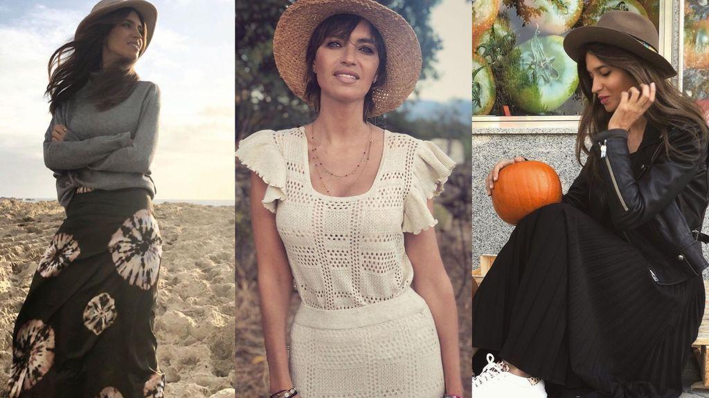Palabra de Sara Carbonero: así vas a combinar todas las faldas largas que tienes en tu armario