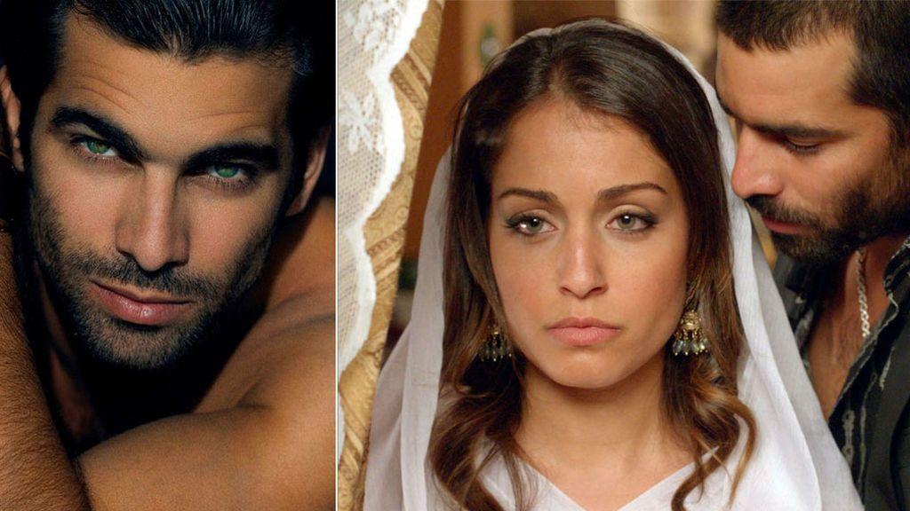 Rubén Cortada (Faruq) con Hiba Abouk en 'El Príncipe'