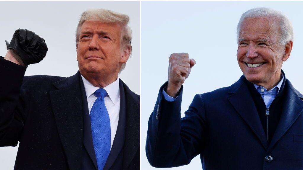 La ajustada lucha en las elecciones de EEUU: Biden toma la delantera y Trump pide nuevos recuentos con acusaciones de fraude