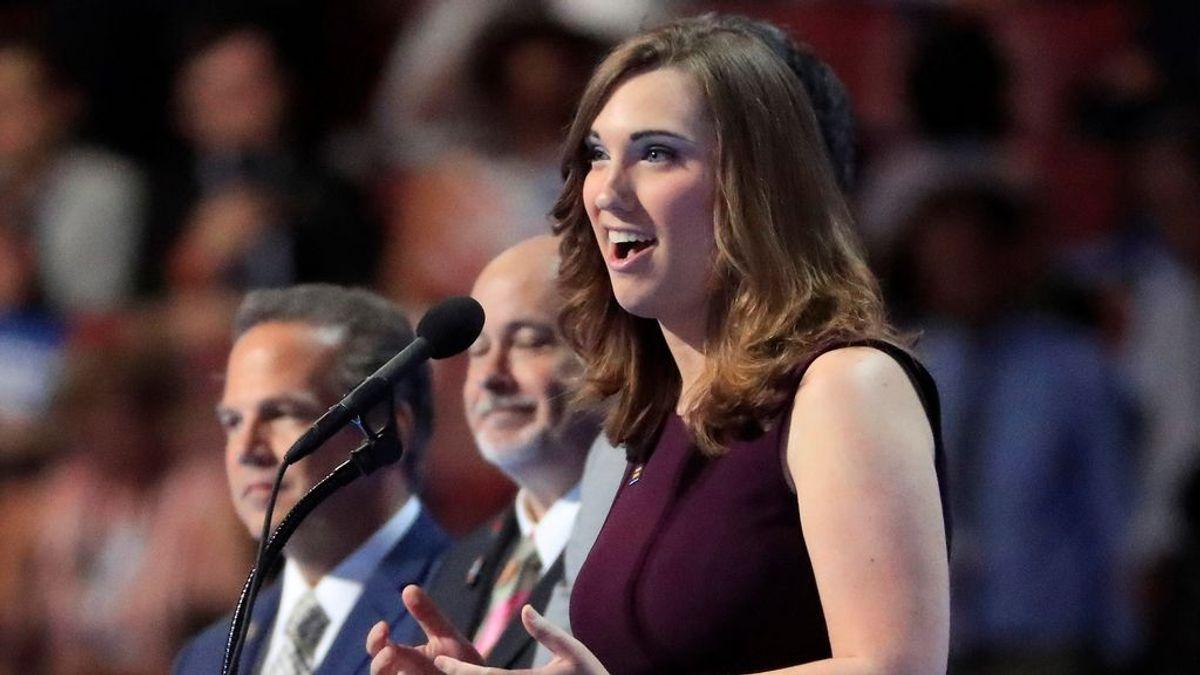 La demócrata Sarah McBride, primera mujer transgénero en ganar un escaño en un Senado estatal de EEUU