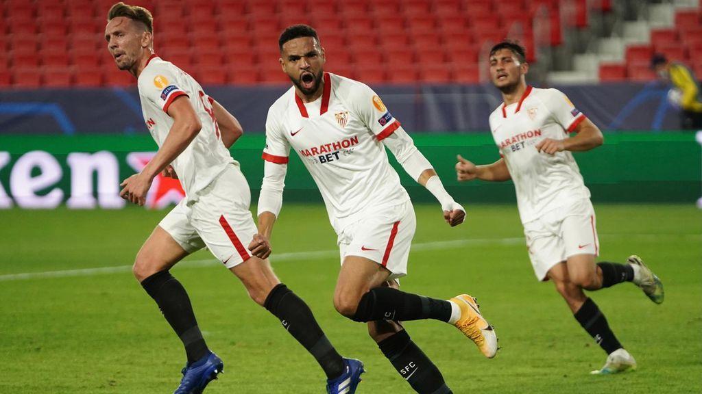 El Sevilla tira de orgullo para remontar un partido que se le había puesto cuesta arriba ante el Krasnodar (3-2)