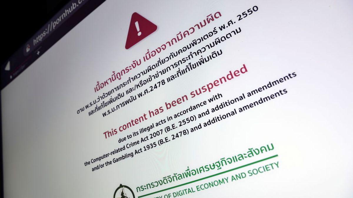 La prohibición de la pornografía en línea en Tailandia provoca reacciones violentas