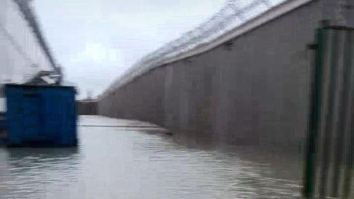 Inundaciones y cortes de luz en la prisión de Picassent por una tromba de agua