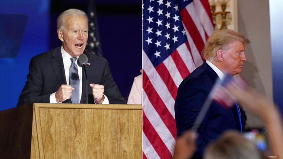 Biden gana, Trump, you are fired