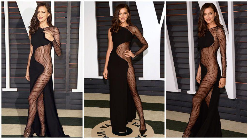 Por su parte, Irina Shayk arrasó en la fiesta de Vanity Fair.