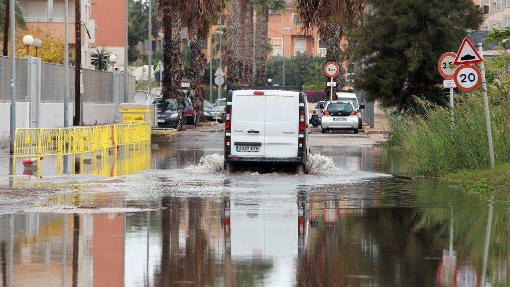 Granizo, viento y fuertes lluvias: así está viviendo España el paso de la borrasca