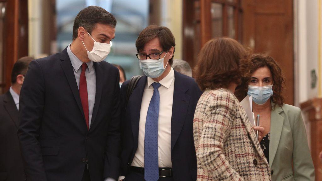 Sánchez prevé las primeras vacunaciones de la covid para dentre de seis meses