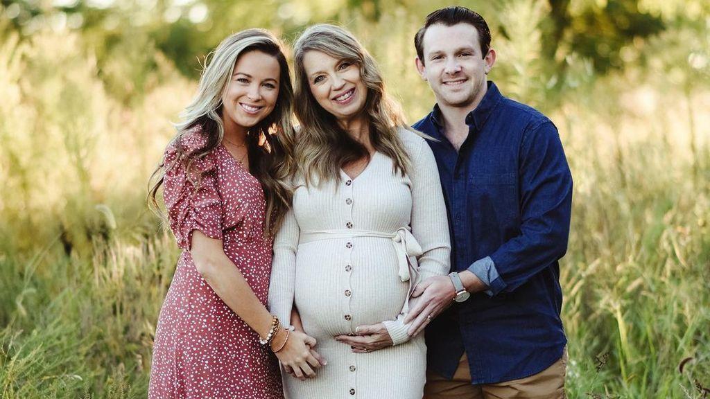 Madre y abuela al mismo tiempo: una mujer de 51 años se queda embarazada de su nieto porque su hija no puede
