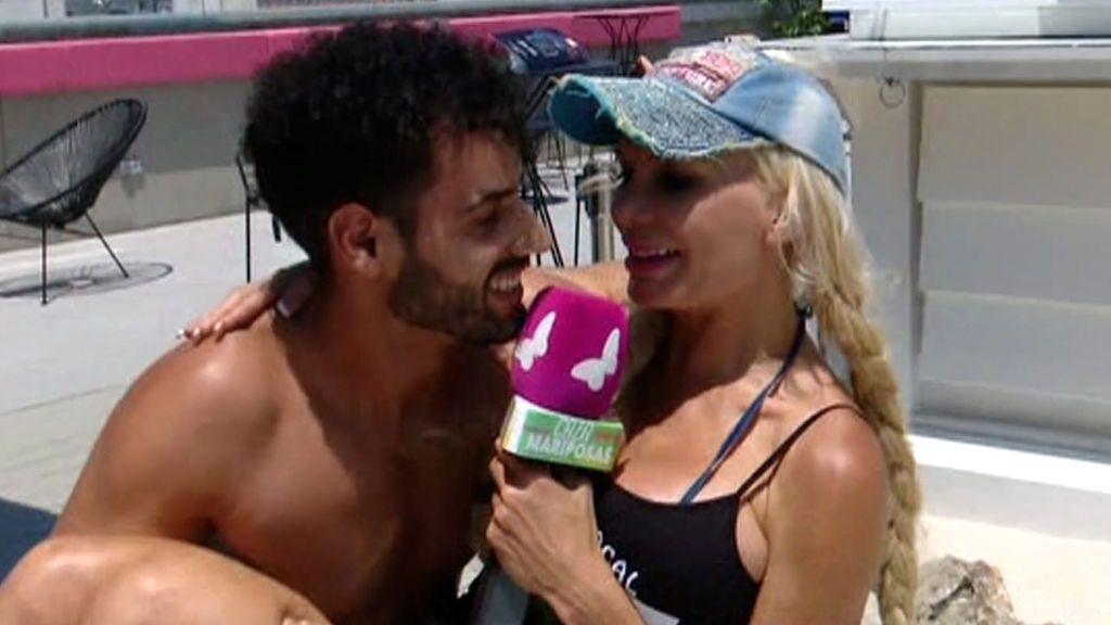 """Asraf tonteó con Yola Berrocal antes de Isa Pi: """"Habrá que darse un chapuzón, que estamos muy calientes"""""""