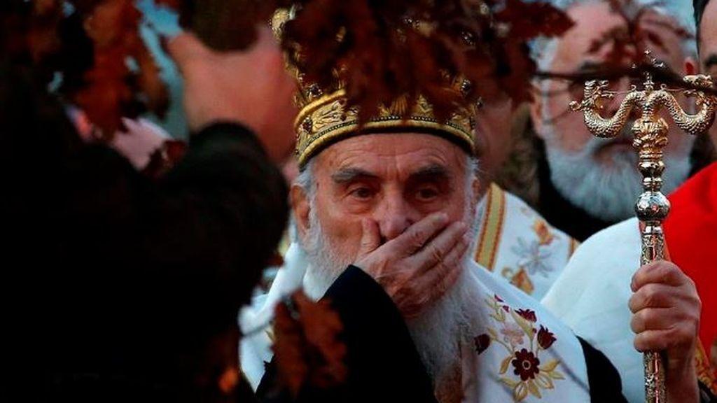 Otro líder de la iglesia ultraordoxa de 90 años,  hospitalizado con coronavirus